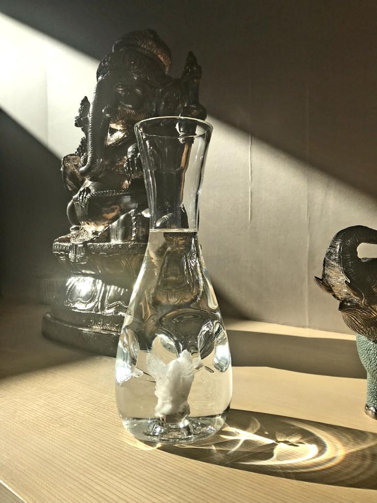 GIGI Kristall im Glaskrug